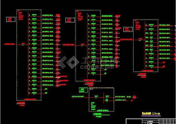 某酒店厨房电气图-图3