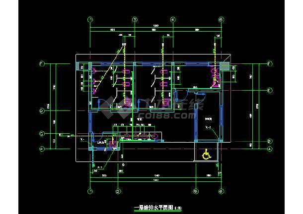 图纸公共图纸给排水v图纸厕所中意思tz是啥经典建筑图片
