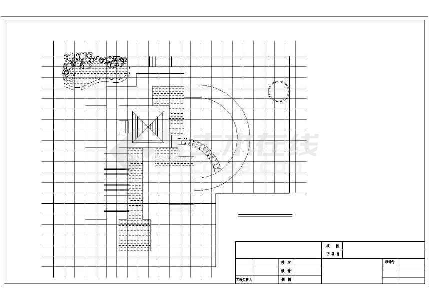 电气屋顶花园设计施工图纸(共7张)MV图纸v电气经典图片
