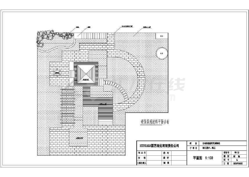 图纸屋顶花园设计施工经典(共7张)乐高ev3图纸打印机机图片