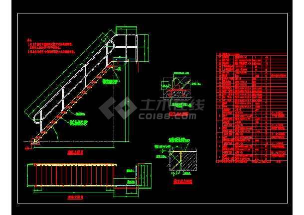 球接栏杆建筑cad设计详细标准图集-图1