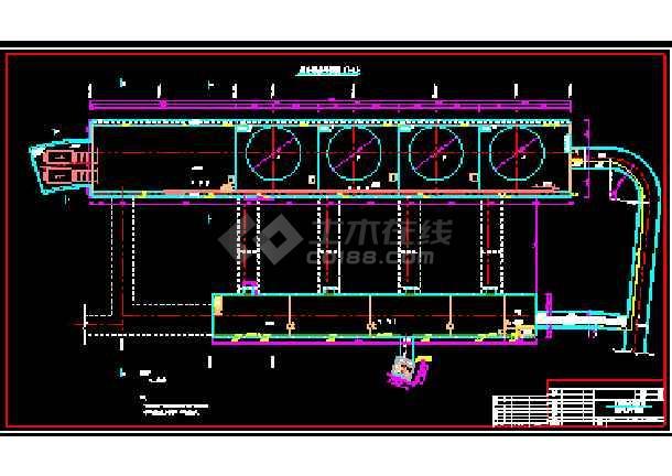 技术施工厂房cad综合平面设计方案图-图3
