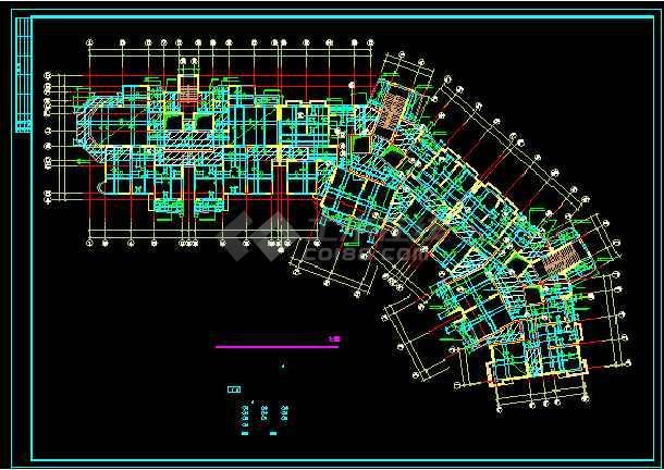 某19结构住宅楼cad扳机v结构详情层高死亡图纸2图纸图片