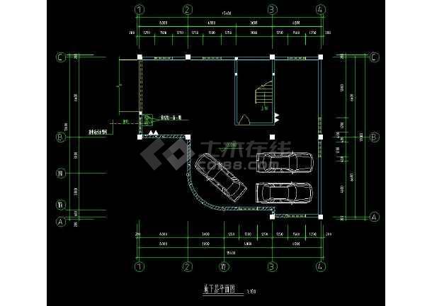 某地精品三层住宅别墅建筑给排水设计cad施工图(含设计说明)-图2