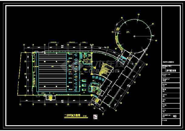 内容包括:二层平面图,二次结构图,二层吊顶图,设计精准,可供参考.