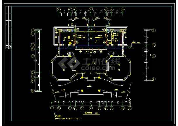 某地多层精品别墅建筑给排水及采暖设计cad施工图(含设计说明)-图1