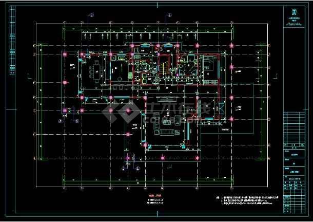 某楼盘项目2套小别墅建筑设计cad方案图集-图1