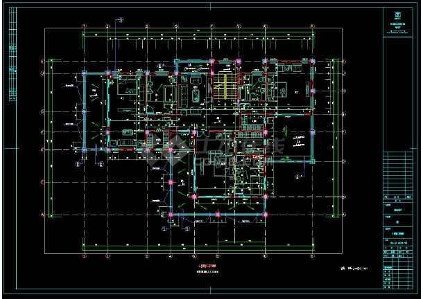 某楼盘项目2套小别墅建筑设计cad方案图集-图2