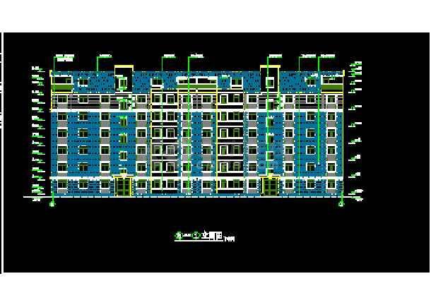 某市国贸中心一期14号楼建筑CAD设计施工图纸-图3