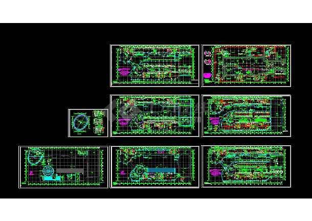 【精选】23套商业街建筑cad图纸(最新整合)-图2