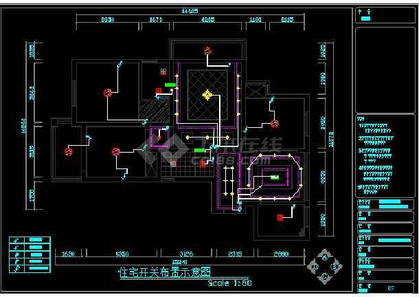 现代简欧混搭风格装修施工图(附效果图)-图3