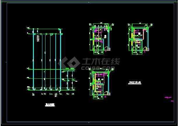 湘西谭小学新建工程--食堂给排水设计-图1
