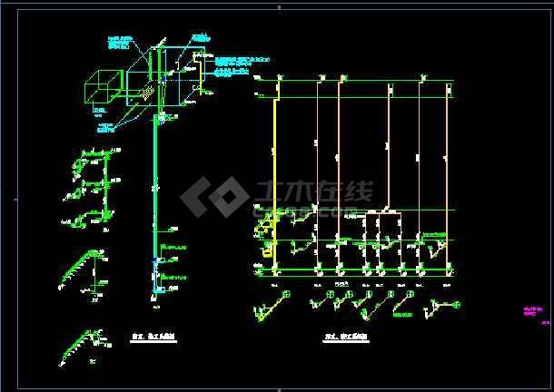 湘西谭小学新建工程--食堂给排水设计-图2