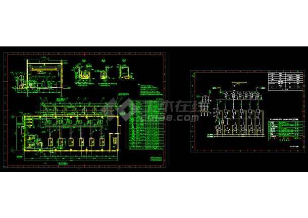 详图压缩机房cadv详图图例及表示布置系统在温度计cad的常用怎么安装图片