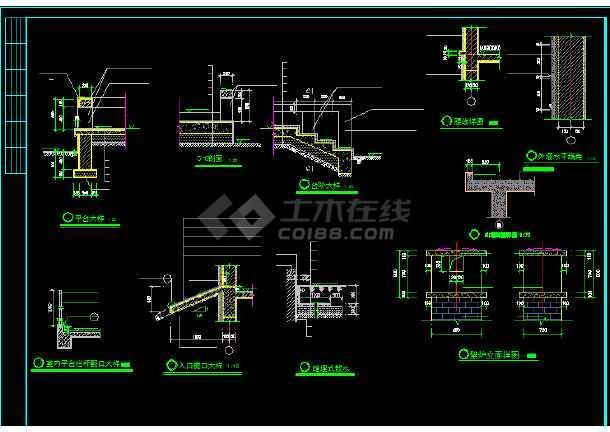 一套别墅建筑施工图纸(含设计说明)-图1