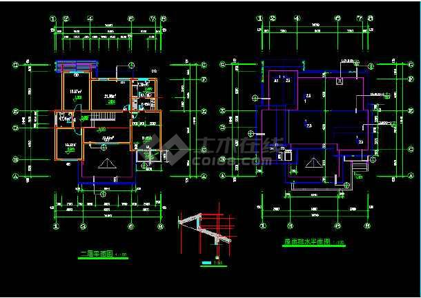 一套别墅建筑施工图纸(含设计说明)-图2