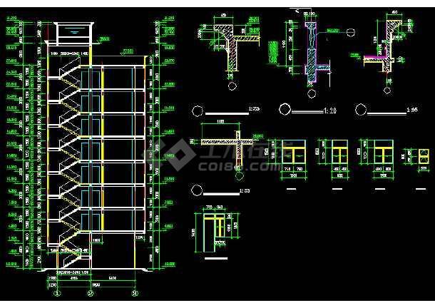 一套简单的标准农民房建筑施工图纸-图2
