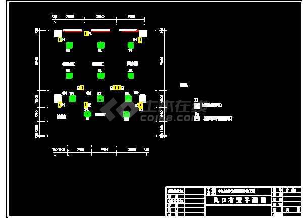 某大学PCR实验室cad暖通空调平面设计施工图纸-图2