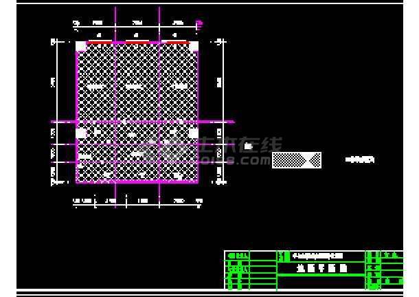 某大学PCR实验室cad暖通空调平面设计施工图纸-图3