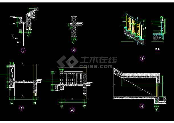 某地比较简单的农居房建筑施工图纸-图1