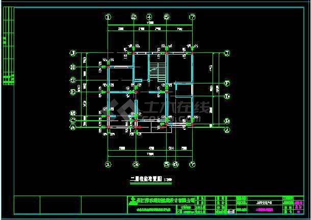 经典小别墅建筑cad建筑结构施工图-图1