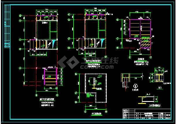 北京别墅改造结构设计施工图(新增基础梁夹层)-图3