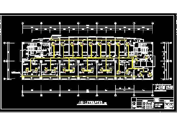 一整套建筑中央空调cad平面设计施工图(毕业设计)-图2