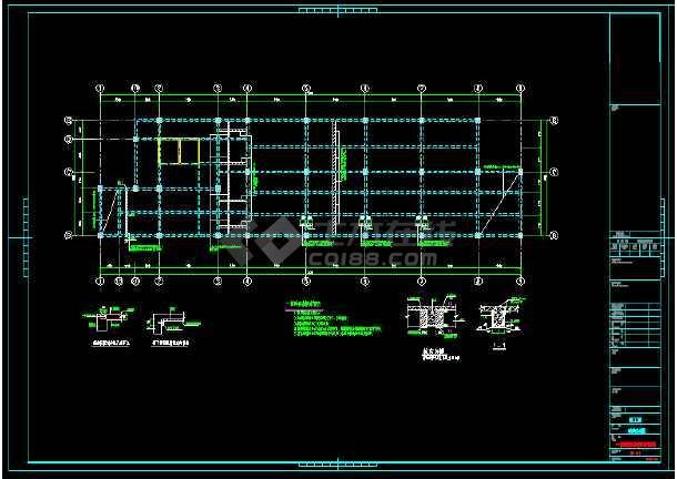 地上13层书店结构改造加固工程设计施工图(含加固设计说明)-图2