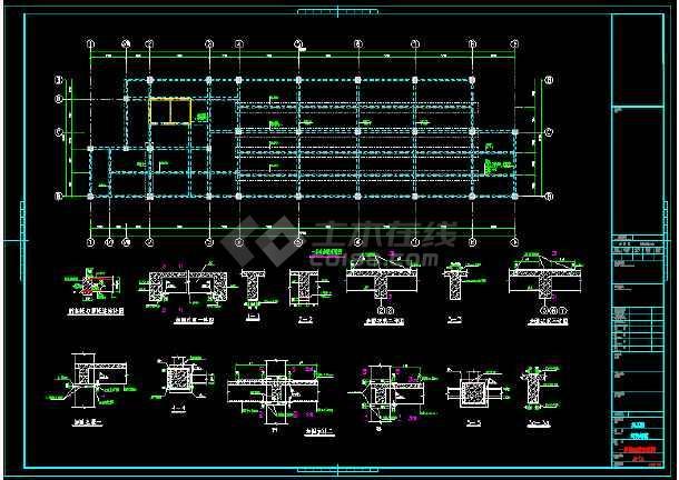 地上13层书店结构改造加固工程设计施工图(含加固设计说明)-图3