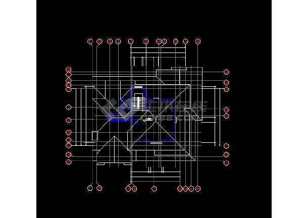 某地精美二层独栋别墅建筑结构图纸(共10张)-图1