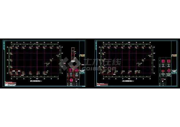 [山西]张弦梁钢结构温泉屋盖结构施工图-图3