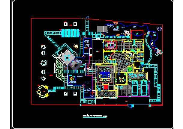 一套完整的别墅景观建筑CAD设计施工图纸-图1