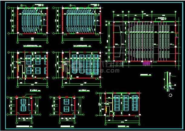 某职业技术学院建筑全套施工设计图纸-图1