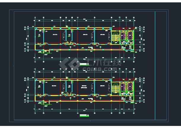 凯欧小学教学楼工程给排水设计图纸-图1