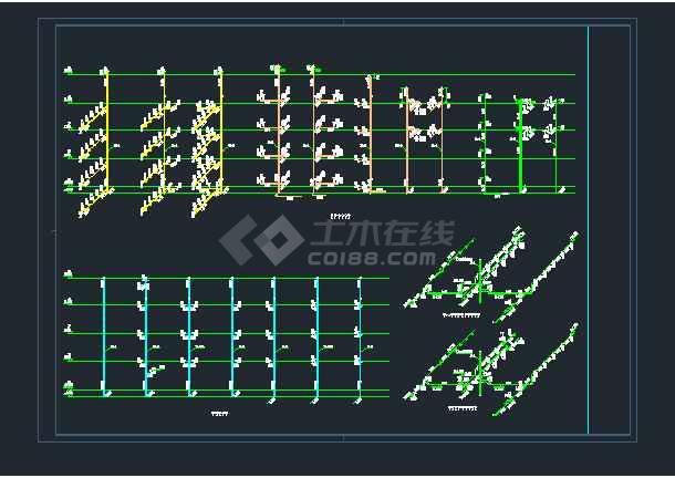 凯欧小学教学楼工程给排水设计图纸-图2