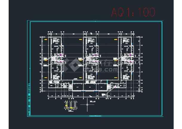 盖县东都幼儿园新建工程--暖通设计CAD图纸-图2