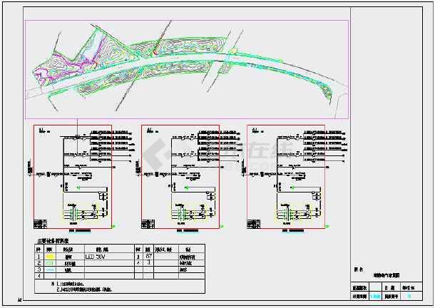 大江名线景观休闲区块--景观配电-图1