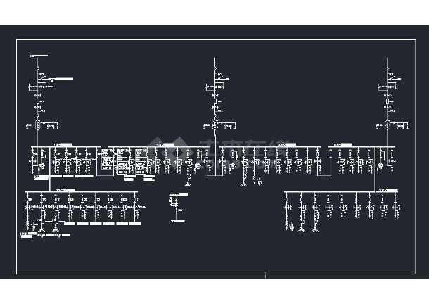 110kv主接线 接地变 消弧线圈图片1