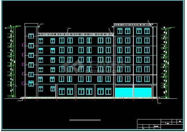 2018精选【90套】沙龙365登入专业办公楼建筑、结构设计图毕业设计系列-图2