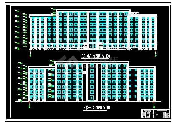 2018精选【90套】沙龙365登入专业办公楼建筑、结构设计图毕业设计系列-图3