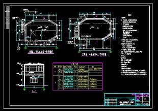 某三操室、图纸冷床站液压cad设计图厚一般多少结构装饰是墙图片