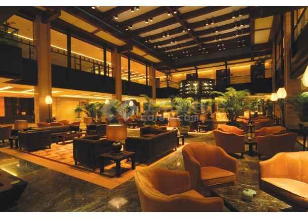 绍兴某五星级园林酒店cad设计施工图(含实景)-图1