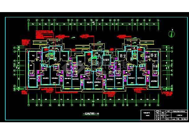 11936平米剪力墙结构住宅楼电气毕业设计(含图纸、计算书、任务书、指导书、摘要、翻译、目录、关键词)-图1