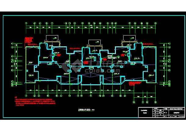 11936平米剪力墙结构住宅楼电气毕业设计(含图纸、计算书、任务书、指导书、摘要、翻译、目录、关键词)-图2