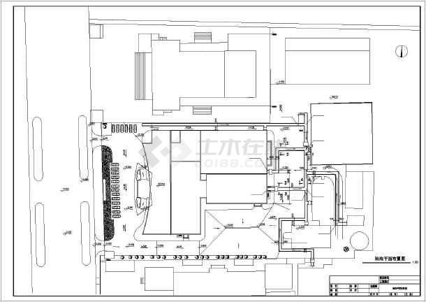 宾馆综合楼给排水空调cad施工图-图2