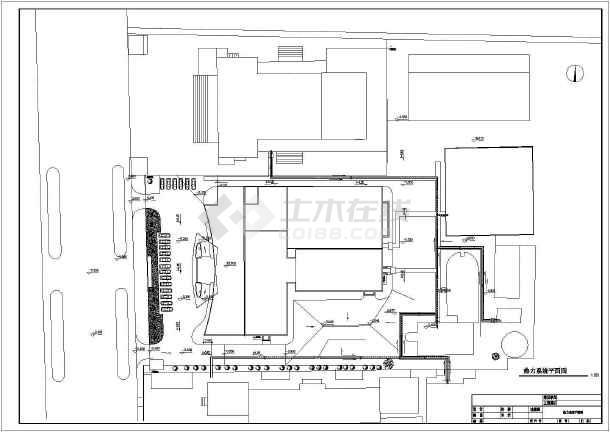 宾馆综合楼给排水空调cad施工图-图3