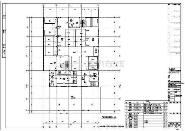 某气体工业有限公司维修车间暖通设计改造图-图1
