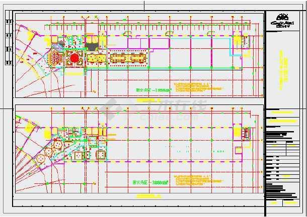 大型酒店电气系统cad施工设计图纸-图2