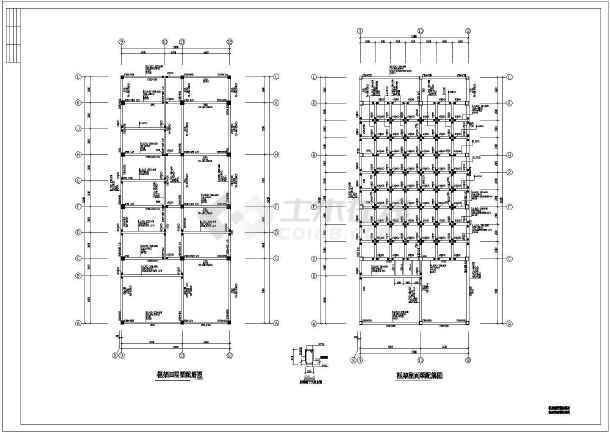 市级实验图纸教学楼cad混合结构施工小孩上小学小学上海图片
