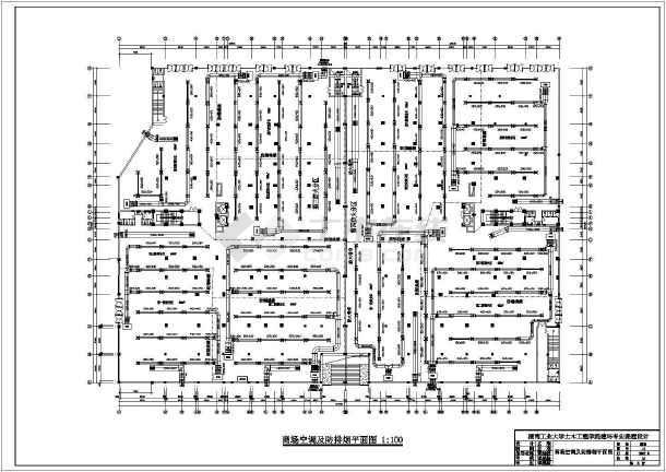 一整套住宅小区包括建筑楼暖通空调cad图纸-图2